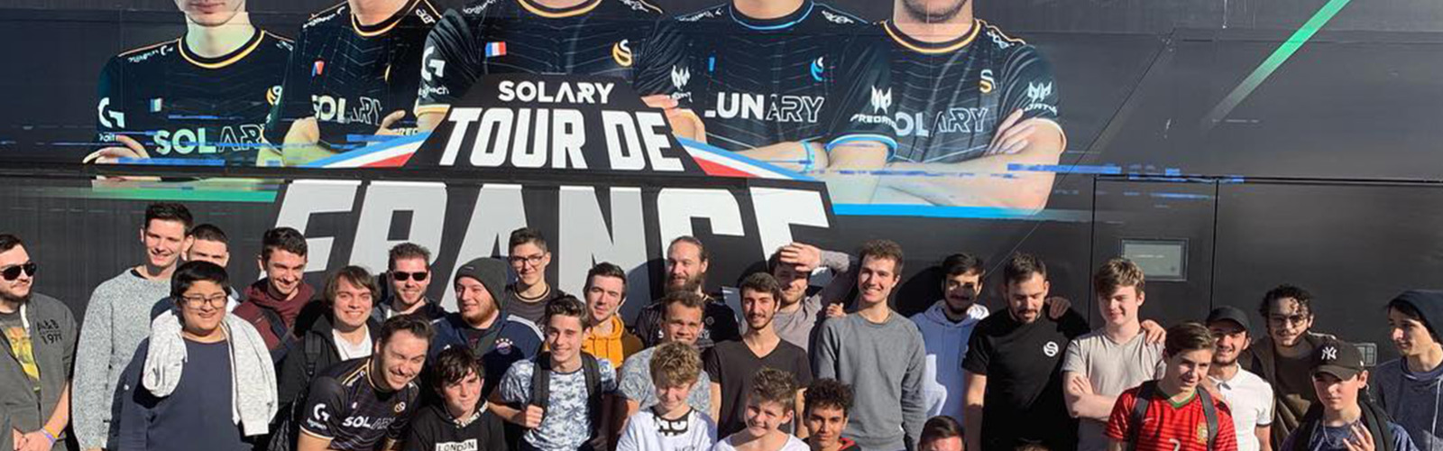 SOLARY FAIT LE TOUR DE FRANCE EN BUS !